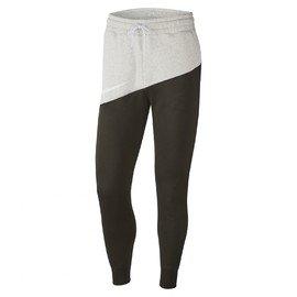 Bílo-černé pánské tepláky Nike - velikost XL