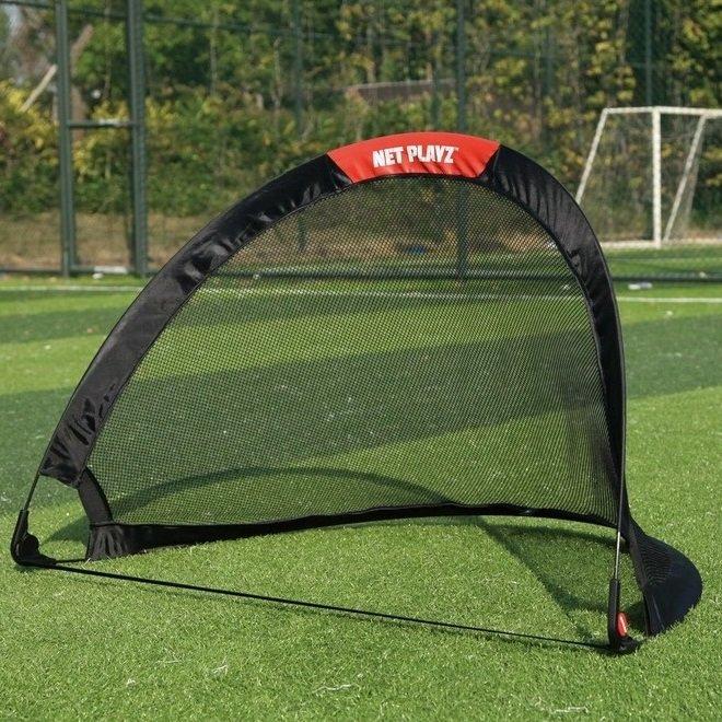 Skládací fotbalová branka Spartan - šířka 122 cm a výška 76 cm