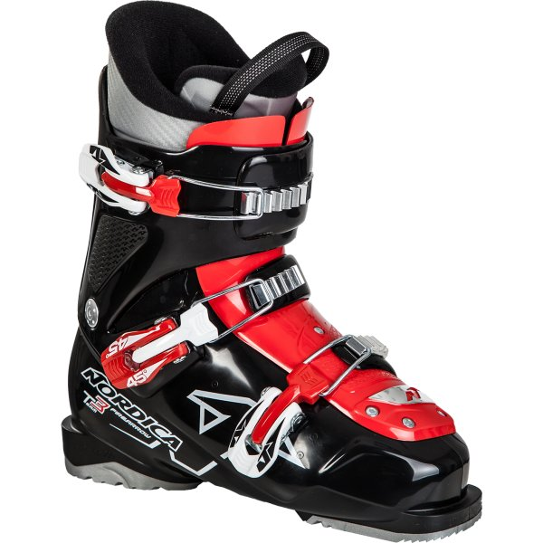 Černo-červené lyžařské boty Nordica