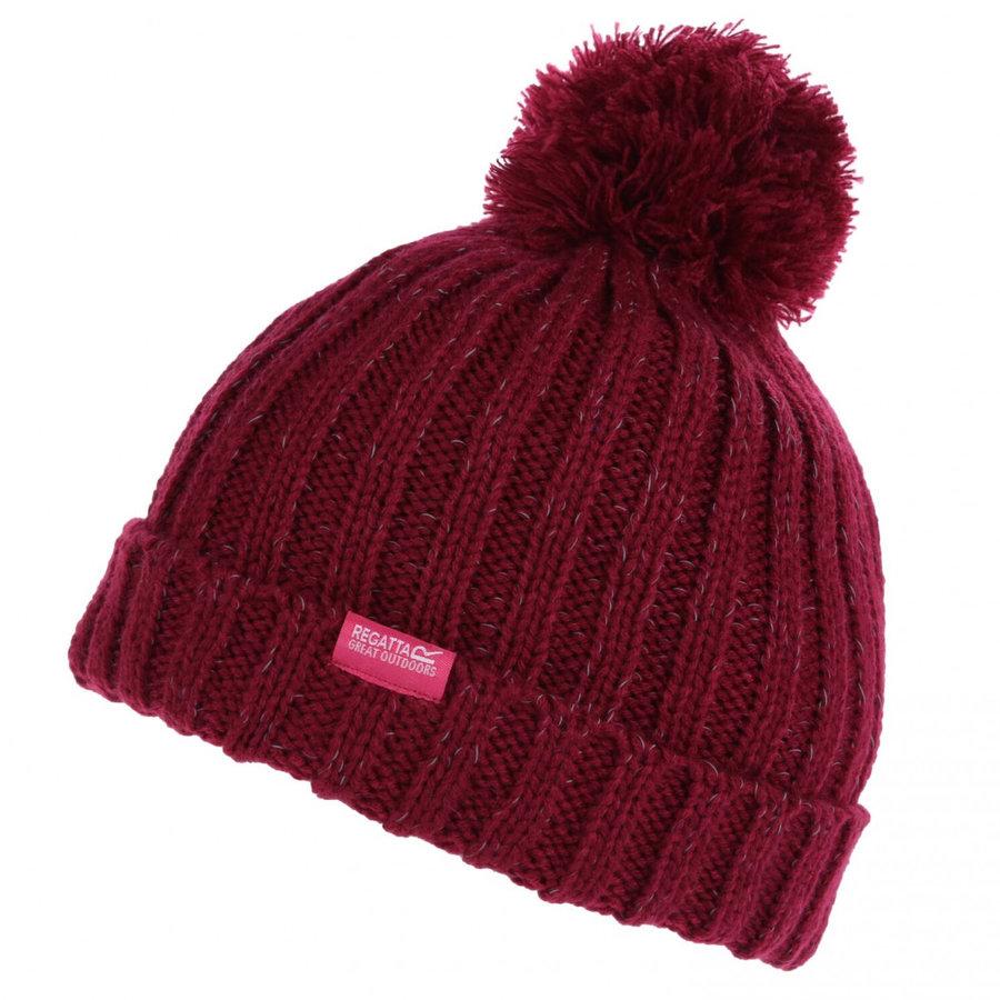 Červená dětská zimní čepice Regatta