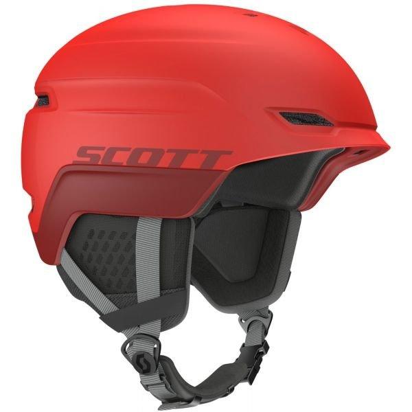 Červená lyžařská helma Scott - velikost L