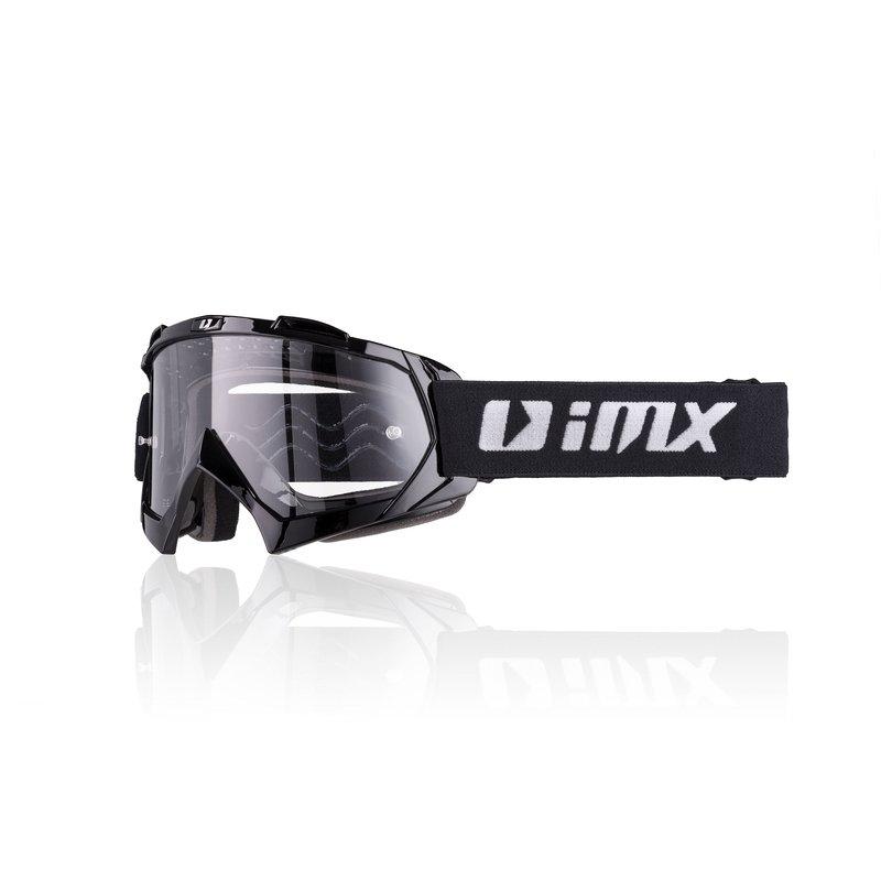 Černé motorkářské brýle Strata, inSPORTline
