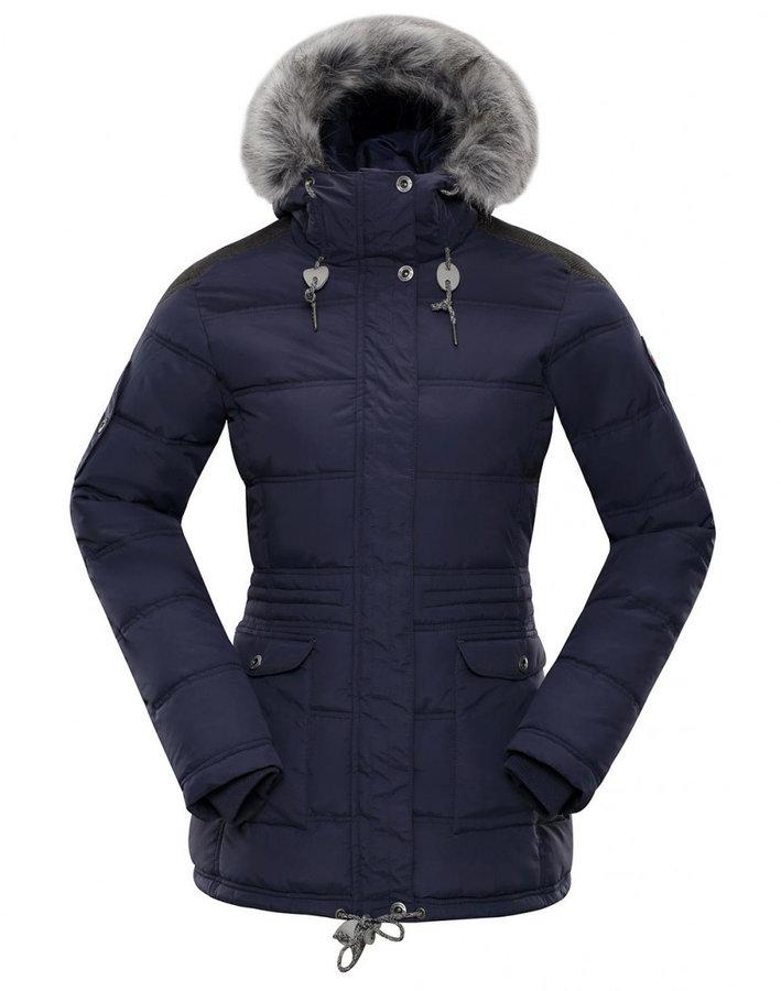 Modrá zimní dámská bunda Alpine Pro - velikost L