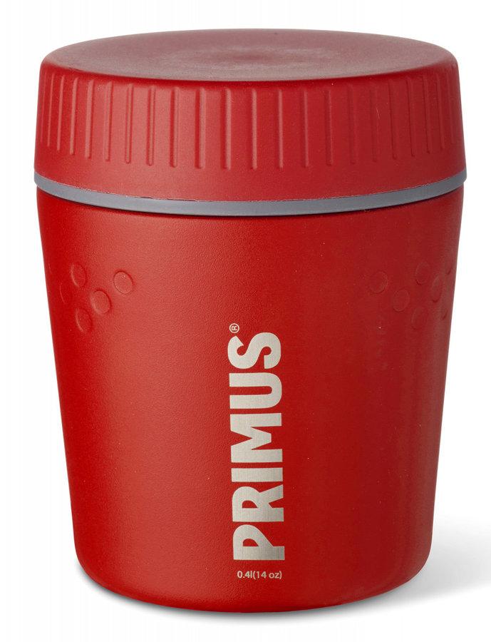 Červená termoska na jídlo Primus - objem 0,4 l