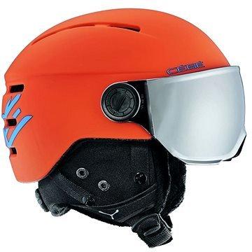 Oranžová dětská lyžařská helma CÉBÉ - velikost 49-51 cm