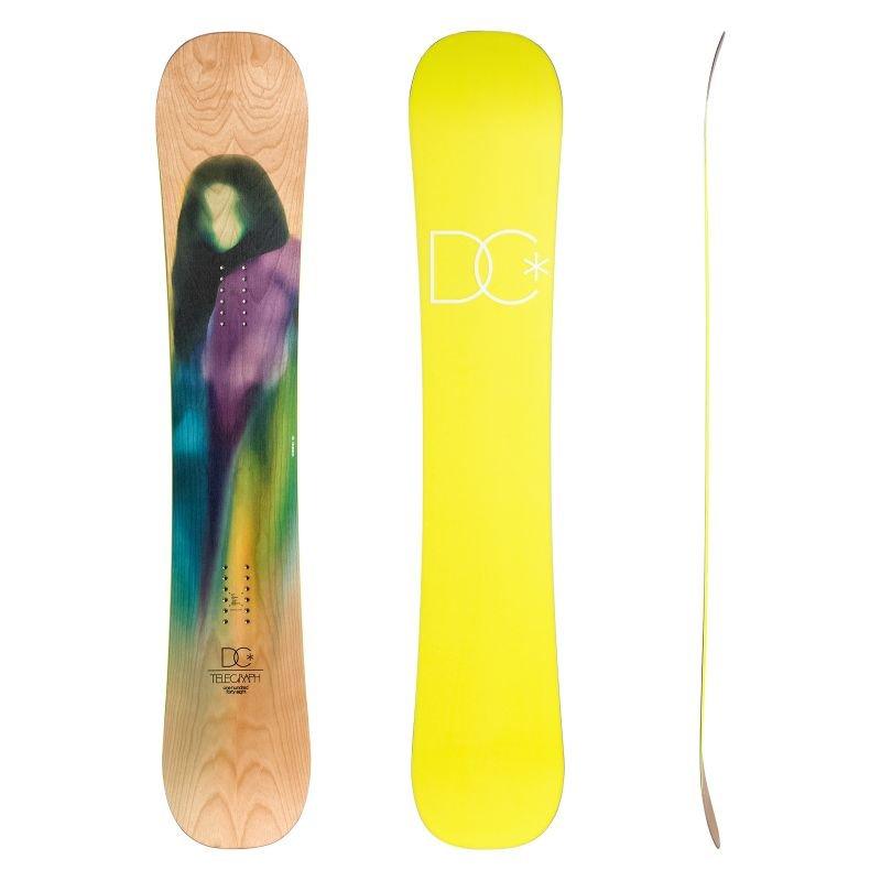 Snowboard bez vázání DC - délka 148 cm