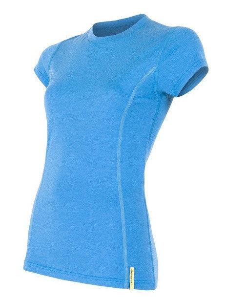 Modré dámské tričko s krátkým rukávem Sensor - velikost XL