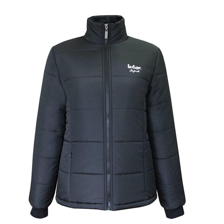 Černá zimní dámská bunda Lee Cooper - velikost S