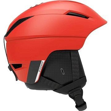 Červená dámská lyžařská helma Salomon