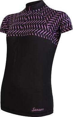 Černý dámský cyklistický dres Sensor