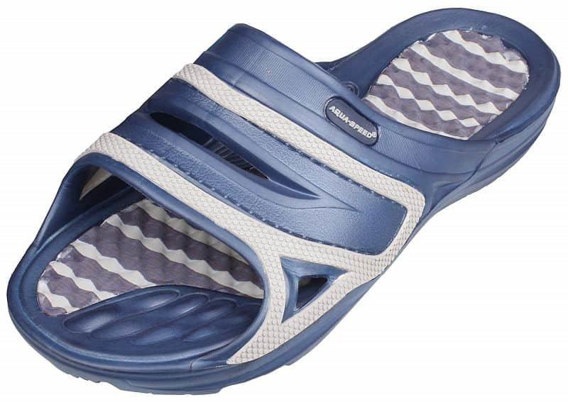 Modré pánské pantofle Aqua-Speed - velikost 42 EU