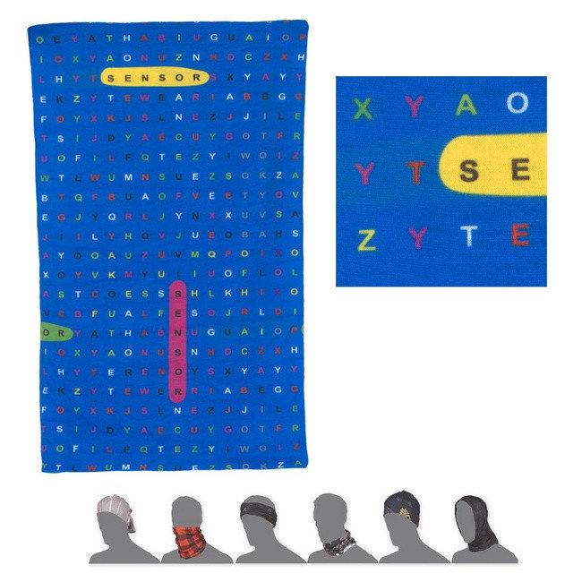 Šátek - Dětský šátek Sensor Tube Type