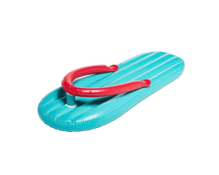 Nafukovací lehátko - DIDAK Nafukovací lehátko Flip Flop - obří pantofle 180 x 75 cm