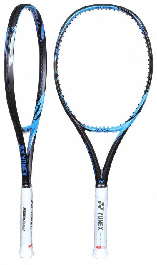 Modrá tenisová raketa Yonex - délka 68,5 cm