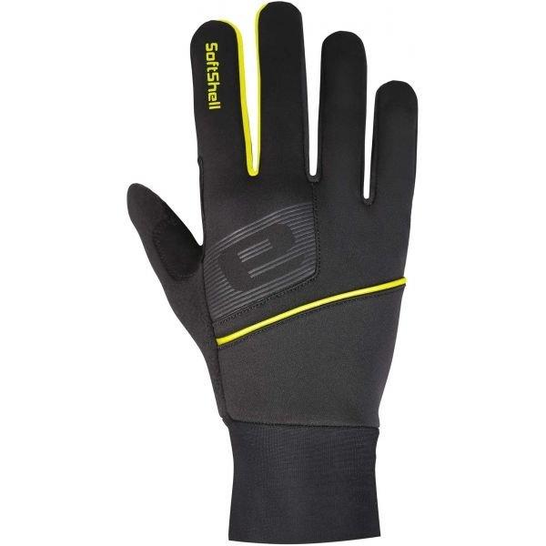 Černé rukavice na běžky Etape - velikost M