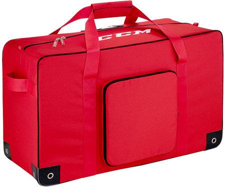 Červená taška na hokejovou výstroj - junior CCM