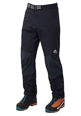 Modré softshellové pánské turistické kalhoty Mountain Equipment