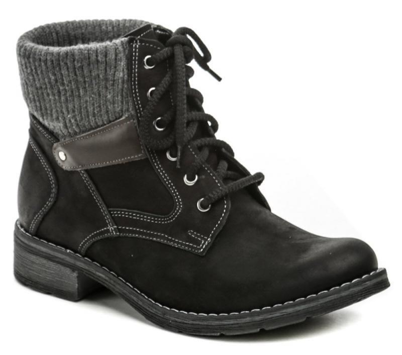 Černé dámské zimní boty Mintaka - velikost 39 EU