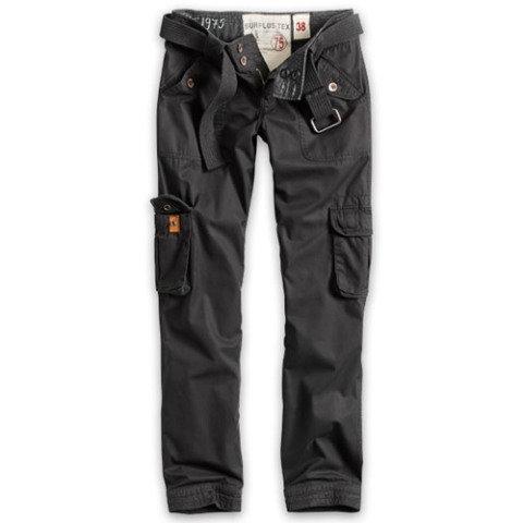 Kalhoty - Kalhoty dámské PREMIUM SLIMMY ČERNÉ