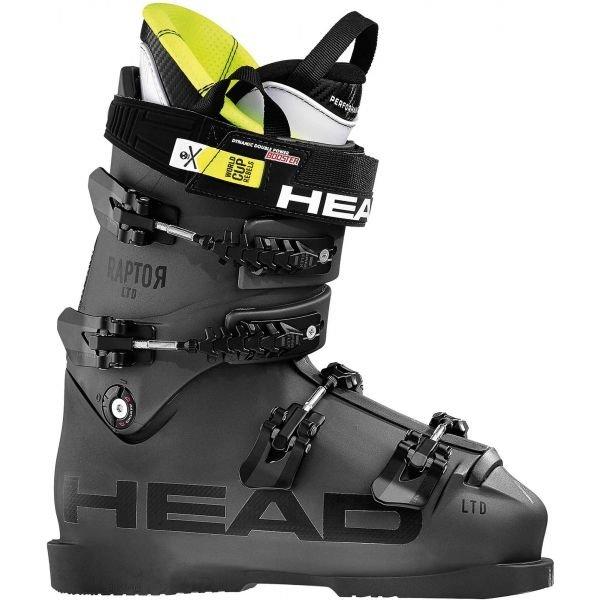 Černé pánské lyžařské boty Head - velikost vnitřní stélky 29,5 cm