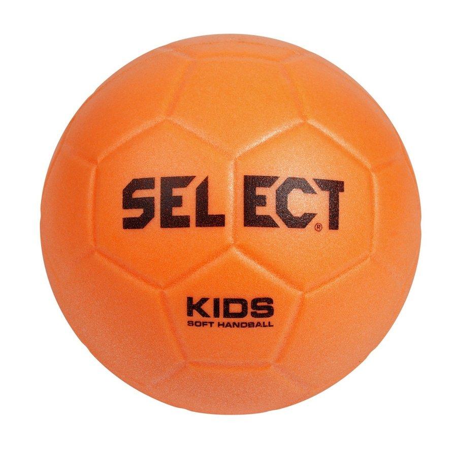 Oranžový míč na házenou Kids Soft Handball, Select - velikost 0