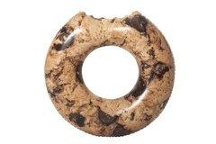 Hnědý dětský nafukovací kruh Donut Bestway