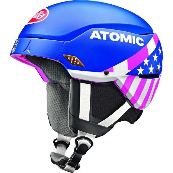 Modrá dámská lyžařská helma Atomic
