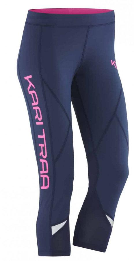 Modré dámské kalhoty na běžky Kari Traa - velikost XS