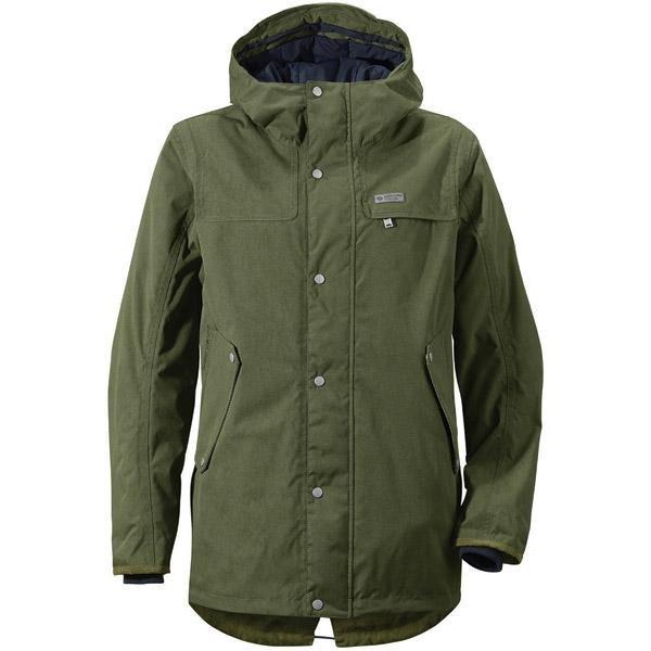 Zelená zimní pánská bunda s kapucí Didriksons1913 - velikost S