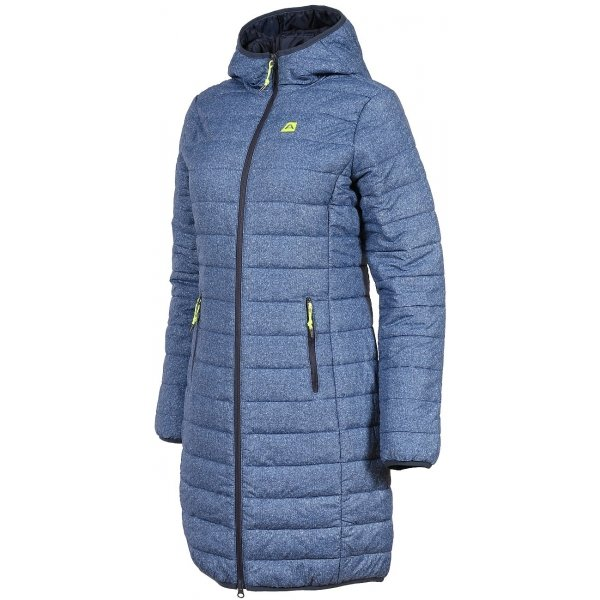Modrý dámský kabát Alpine Pro