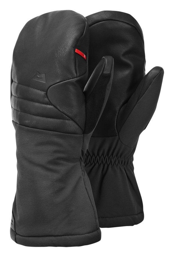 Černé zimní pánské ferratové rukavice Mountain Equipment