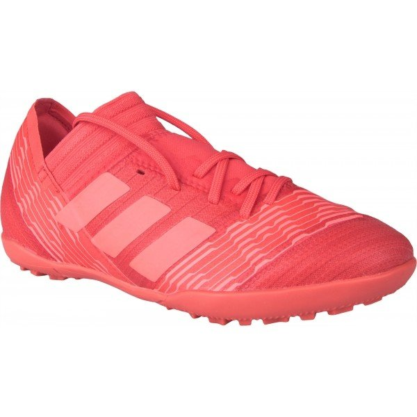 Růžové dětské kopačky turfy Adidas - velikost 35 EU