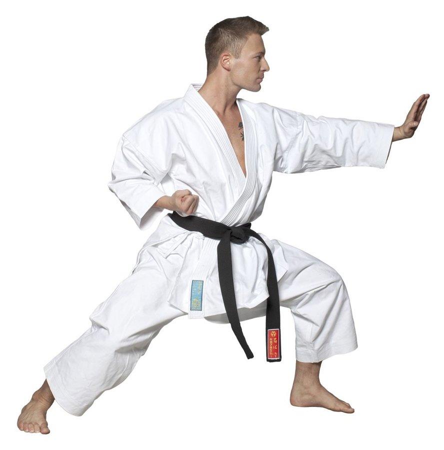 Bílé kimono na karate Hayashi - velikost 160