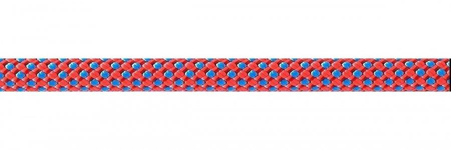 Oranžové horolezecké lano Beal - průměr 9,1 mm a délka 80 m