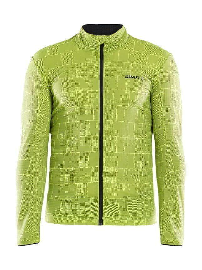 Žlutý pánský cyklistický dres Craft