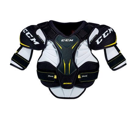 Bílý hokejový chránič ramen - junior CCM