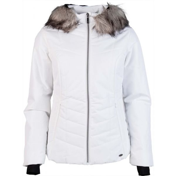 Bílá dámská lyžařská bunda Willard