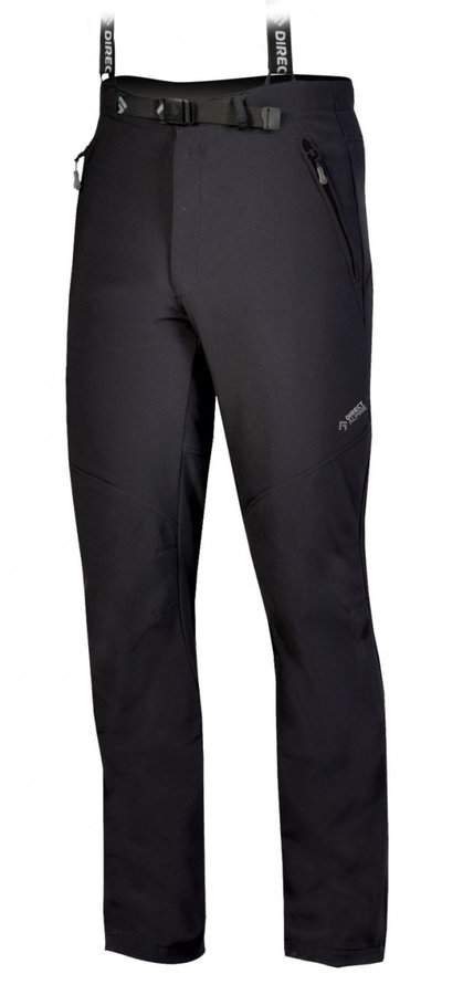 Černé pánské kalhoty Direct Alpine