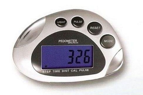Digitální krokoměr s pulsmetrem Junso