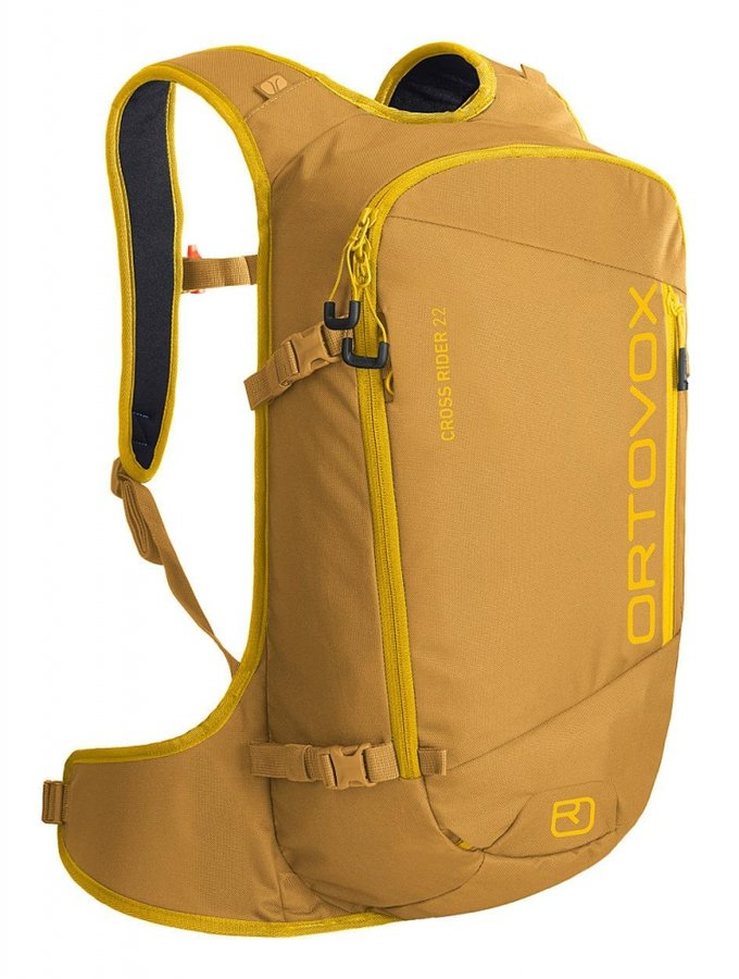 Žlutý skialpový batoh Ortovox - objem 22 l