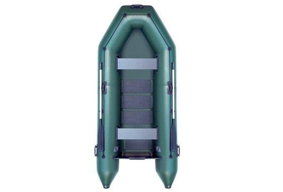 Zelený nafukovací člun pro 2 osoby Boat STM300, Seafox