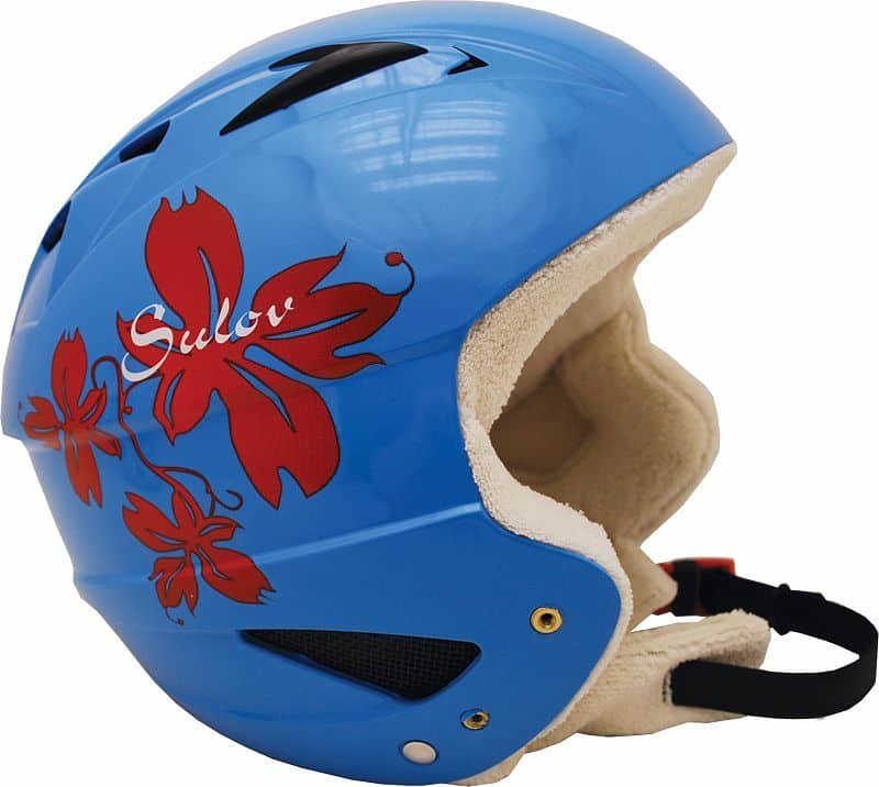 Modrá dětská lyžařská helma Sulov