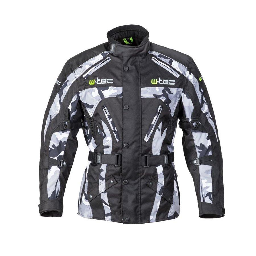 Pánská motorkářská bunda W-TEC