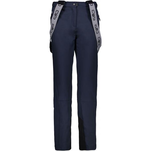 Modré dámské lyžařské kalhoty CMP