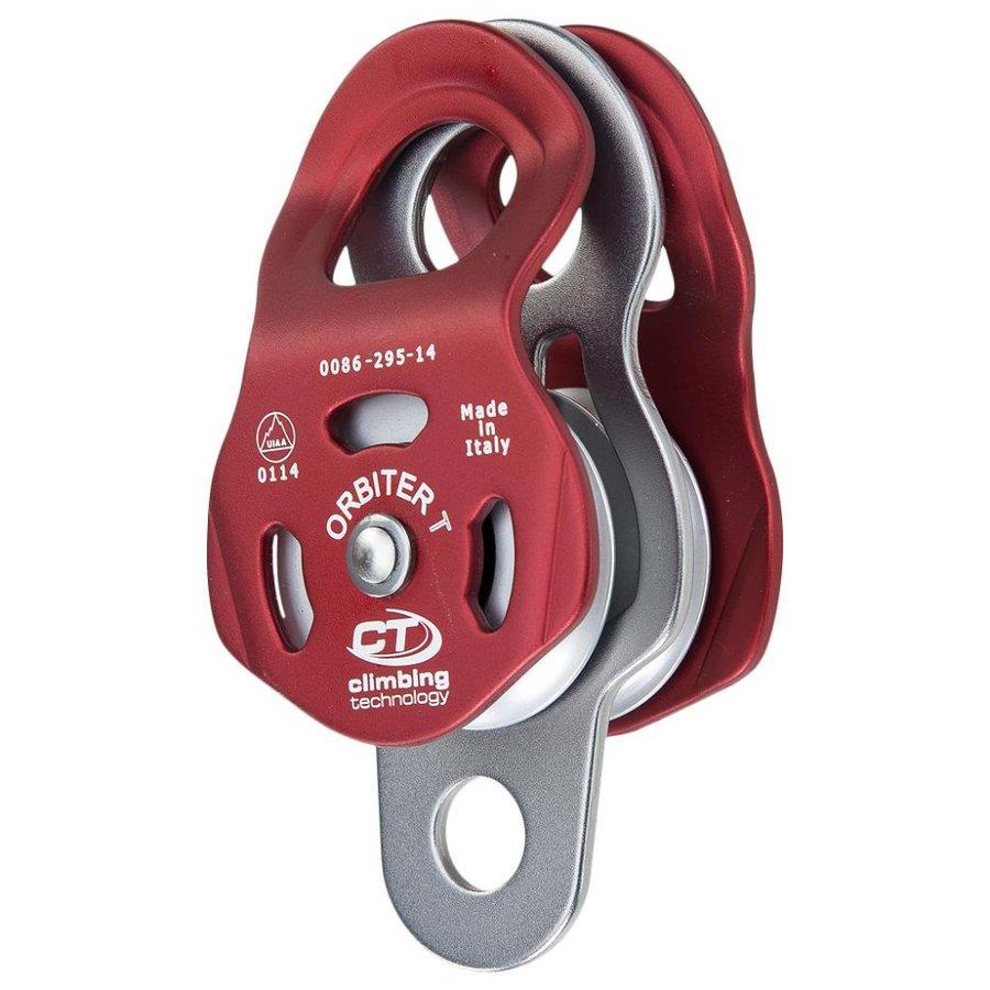 Červená kladka dvojitý Climbing Technology