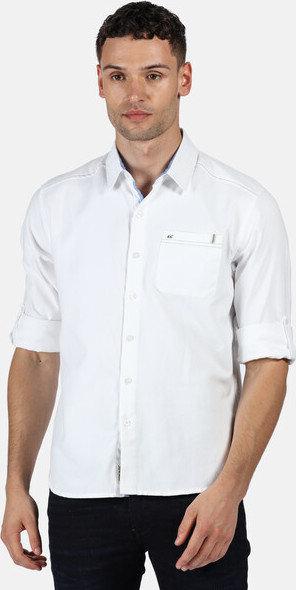 Bílá pánská košile s krátkým rukávem Regatta