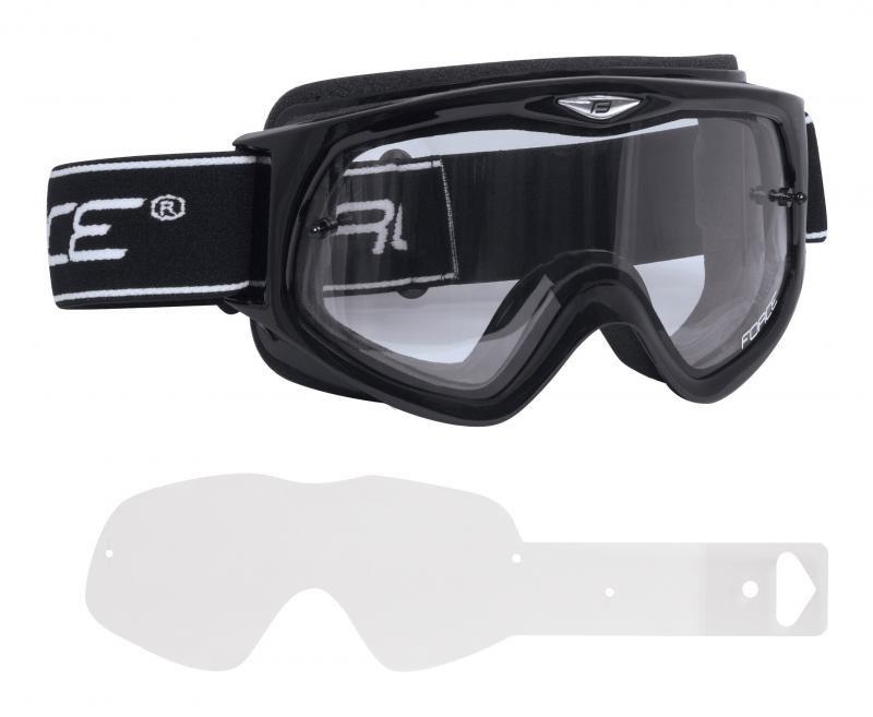 Lyžařské brýle - Force 90890 brýle sjezdové černé