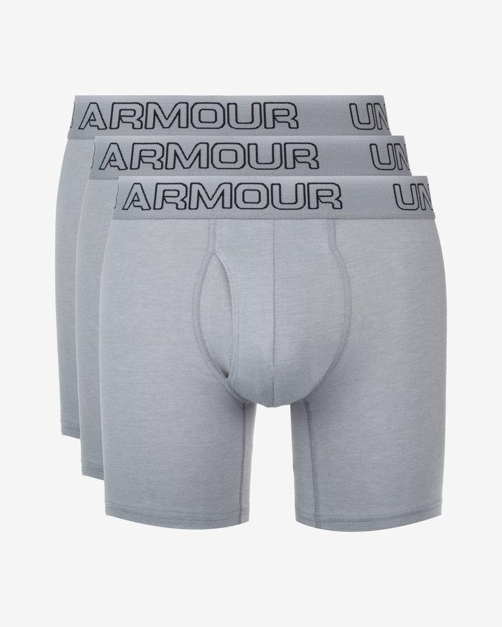 Šedé pánské boxerky Under Armour - velikost S - 3 ks