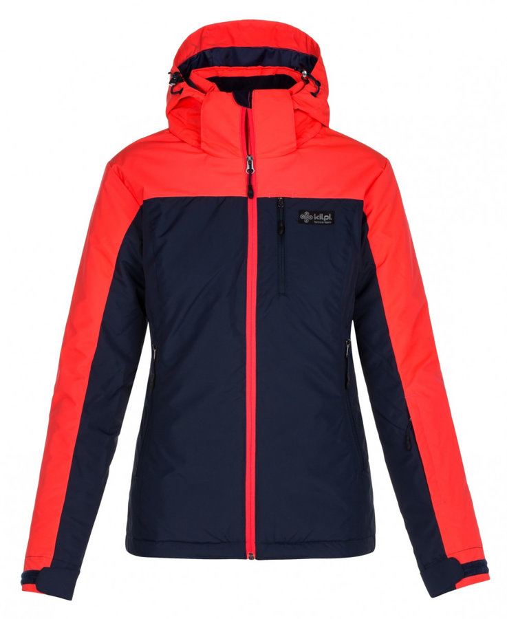 Černo-červená dámská lyžařská bunda Kilpi