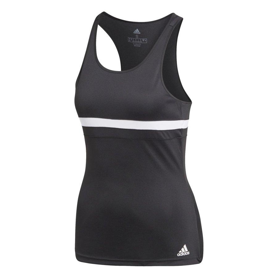 Černé dámské tenisové tílko Adidas - velikost XS